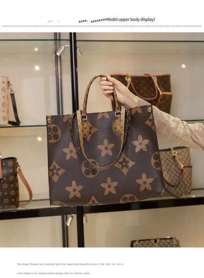Luxury Genuine Leather Women Shoulder Handbag