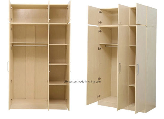 Melamine Particle Materials Panel Wardrobe pictures & photos