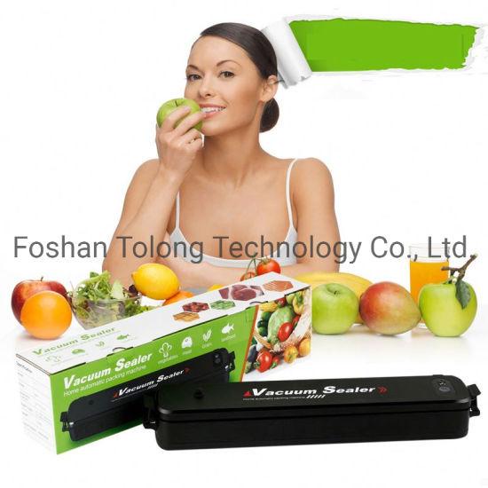Plastic Bag Automatic Food Saver Vacuum Sealer