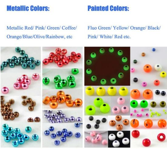 Tungsten Beads for Fly Tying pictures & photos