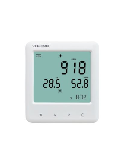 Carbon Dioxide Meter Air Quality Temperature Humidity Meter with Data Logger