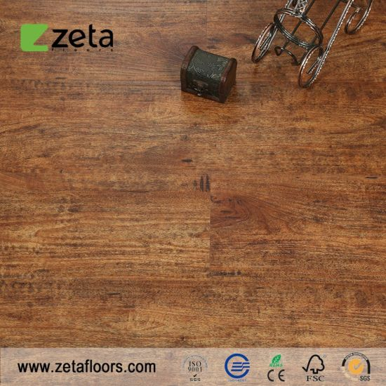 Thermal Insulation Anti-Scratch Noise Prevention Building Material WPC Composite Vinyl Floor Household