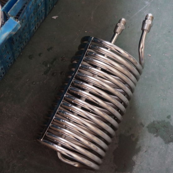 """Stainless Steel 1/4"""" Diameter Pipe Coil for Extractor Tank"""