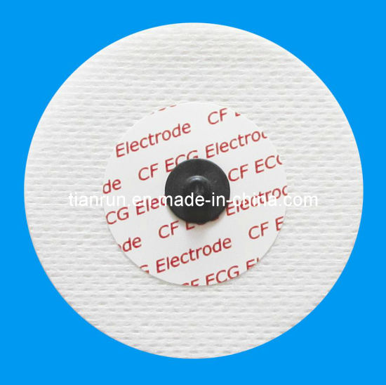 Radiolucent Electrode, Non-Woven Backing, Dia. 55mm