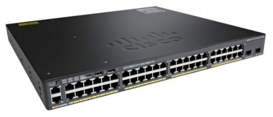 China New Cisco (WS-C2960X-48FPD-L) 48 Port Gige Poe Network Managed