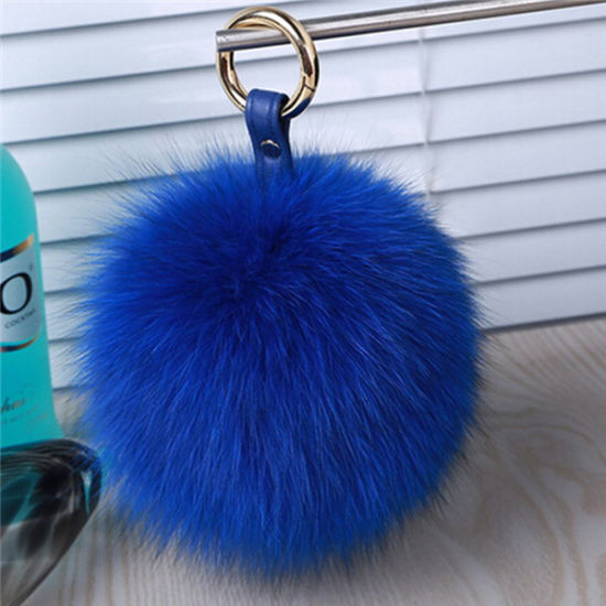 China High Quality Fox Fur Pompom for Decoration pictures & photos