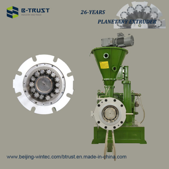 PVC Extrusion Machine with Planetary Screws and Barrel