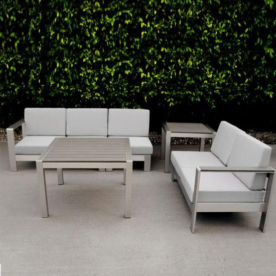 Incredible Metal Outdoor Garden Furniture Poly Wood Aluminum Sofa Set Creativecarmelina Interior Chair Design Creativecarmelinacom