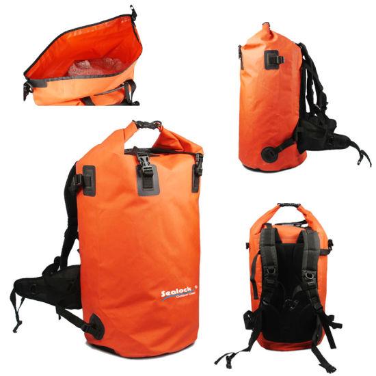 f9bba0a2bcb0 China Waterproof Tarpaulin Fishing Diving Dry Backpack Bag - China ...
