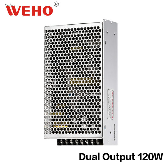 China Dual Voltage 120W LED SMPS Switching Power Supply - China ...