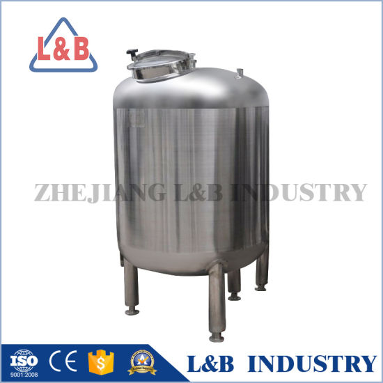 Stainless Steel Water Storage Tank With Flat Cover