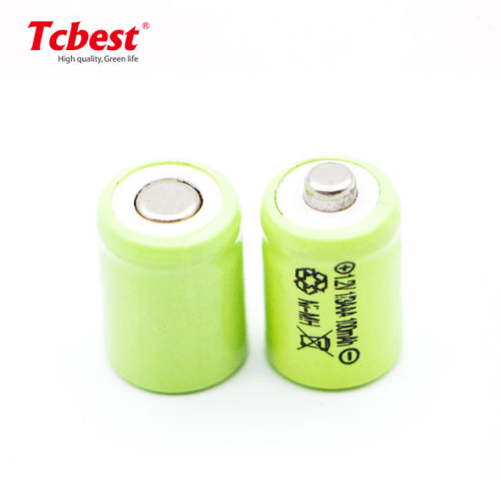 High Quality 12V 100mAh Ni-MH 1/3AAA Battery Rechargeable Battery