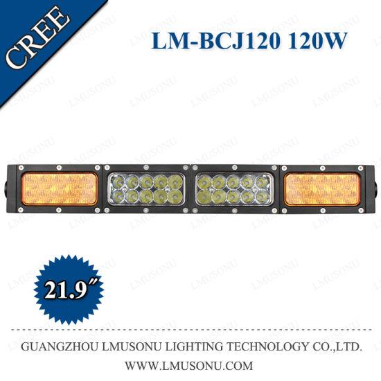 22 Inch New CREE Straight LED Light Bar White Yellow Light