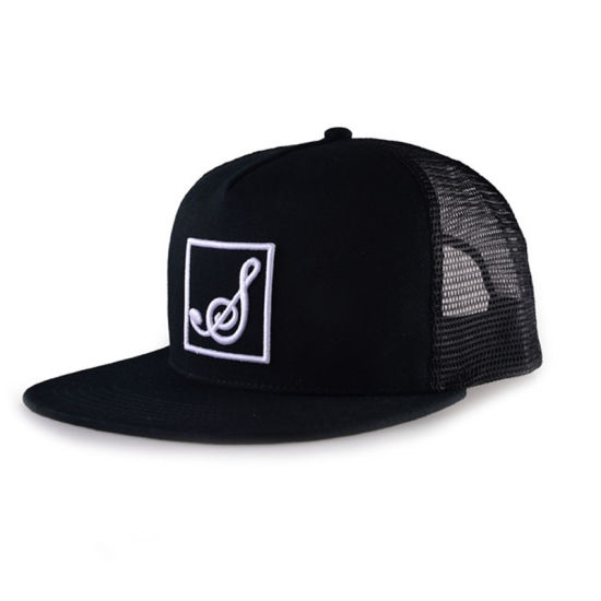 Good Quality 100%Cotton Hip-Hop Snapback Unisex Trucker Hats
