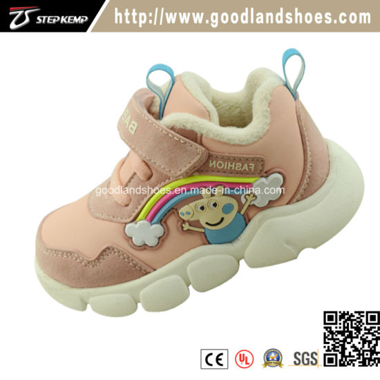Newest Design Fashion Baby Girl Casual Running Shoes Ex-9102
