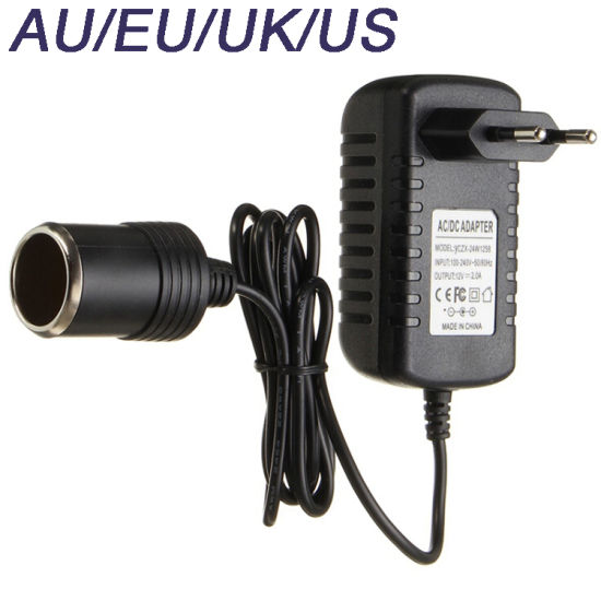 Hot Sale US Plug AC100-240V to DC 12V 2A Power Supply Charger Adapter Converter