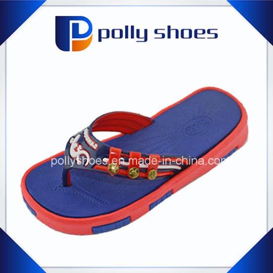 4281cf2c9cc3e2 Promotional Heat Transfer Printing EVA Cartoon Flip Flop - China EVA Flip  Flop