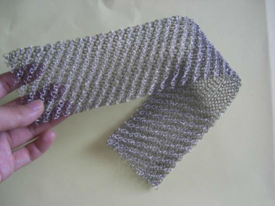 Stainless Steel Knitted Wire Mesh for Gas-Liquid Filtering pictures & photos