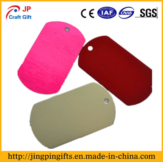 Custom China Supplier Metal Dog Tag and Soft Enamel Pet Name Tag in China pictures & photos