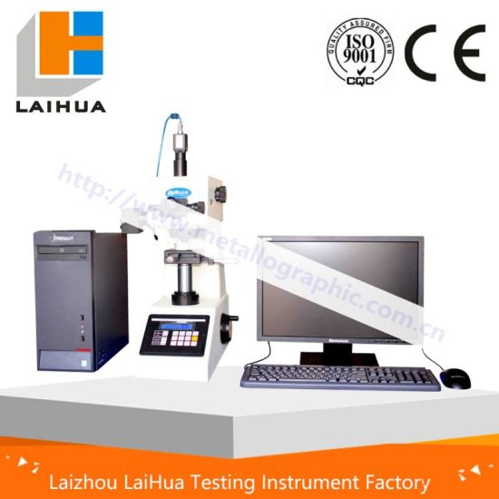 Factory Competitive Price Hvt-1000A Auto Turret Micro Vickers Hardness Testing Instrument with CCD Automatic Measuring System