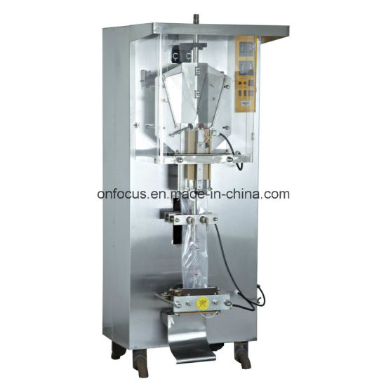 Ce Certified Factory Price Automatic Pouch Liquid Sachet Packing Machine Ah-1000