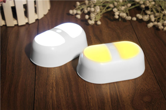3AA Motion Sensor LED Cabinet Lamp Wall Emergency Night Light