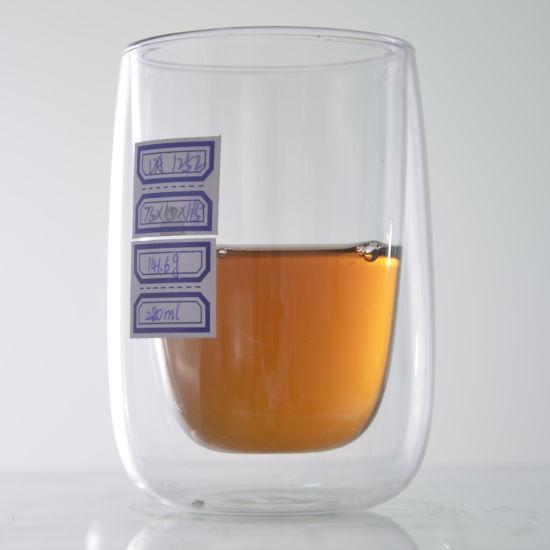 Borosilicate Double Wall Drinking Gl Cup Coffee Mug Tea Sets
