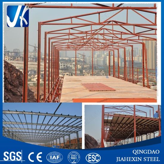 Light Structural Steel Frame for Workshop Construction pictures & photos
