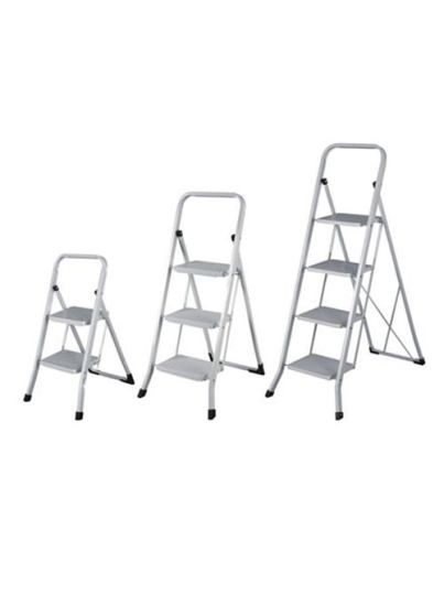 Household Steel Step Ladder with 4 Steps