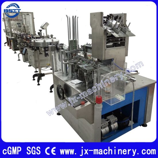 Automatic E Cigarette Liquid Oil Filling Plugging and Capping Packing Machine pictures & photos