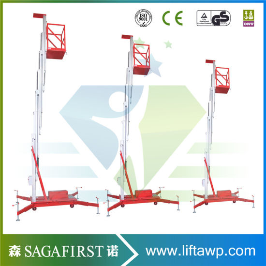 8m Lifting Height Aluminum Lift Work Platform pictures & photos