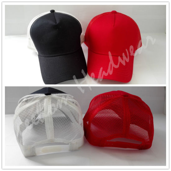5 Panel Trucker Mesh Cap (LTR15024) pictures & photos