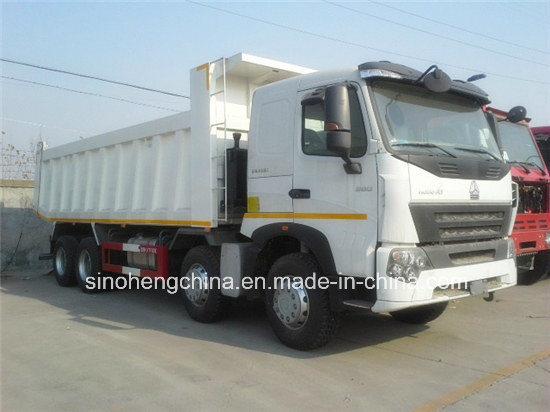 HOWO A7 Front Lift 4 Axle Tipper China Dump Truck