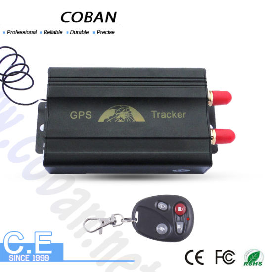 China Vehicle Car GPS Tracker 103b with Remote Control GSM