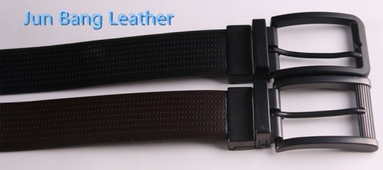 Fashion Men Soft PU Belt in High Quality pictures & photos