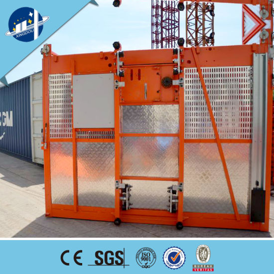 China Construction Site Building Material Hoist Concrete