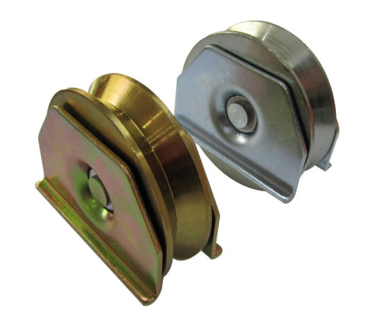 China Sliding Gate Pulley with Plate - China Sliding Gate