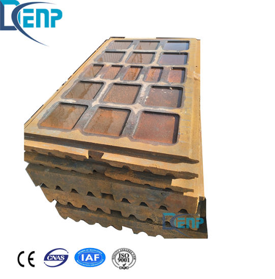 High Manganese Steel Casting with Chrome Jaw Plate pictures & photos