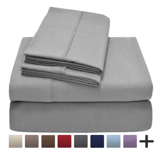 China American Style Brushed Microfiber Solid Color Home