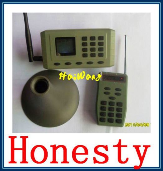 Birdsong Device Caller with Horn Speaker Hw-380 pictures & photos