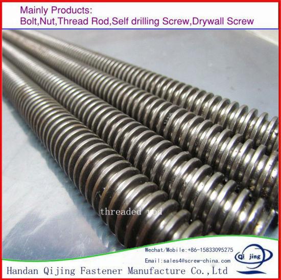 China DIN976 DIN975 Threaded Rod High Strength Threaded Rod