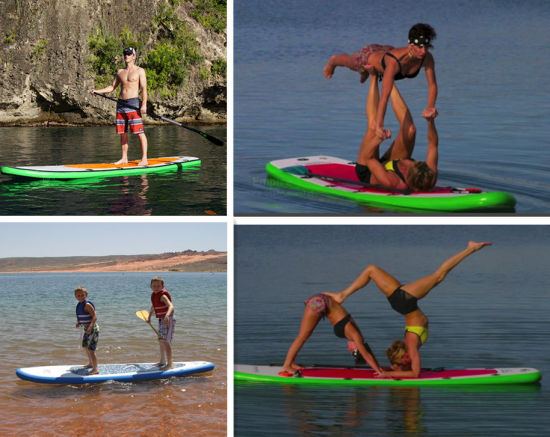 335cm Inflatable Stand up Paddle Board Isup PVC Surf Board