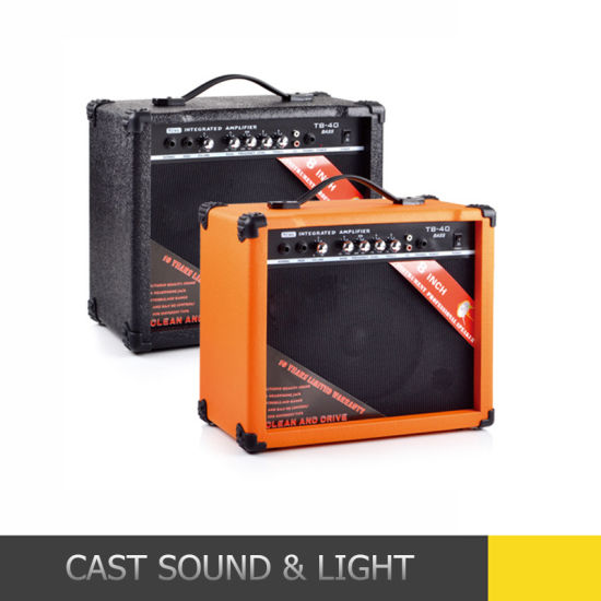 Factory Wholesale Active Portable Guitar Amplifier Speakers pictures & photos