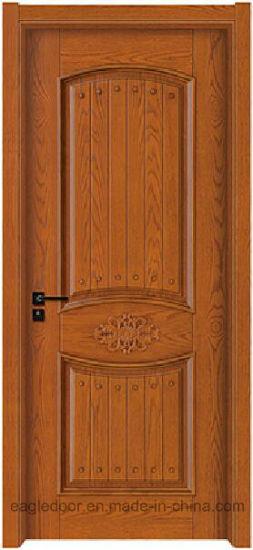 Simple Designs Modern Wood Door Design Melamine Finish Bedroom Interior Wooden Ei 6723