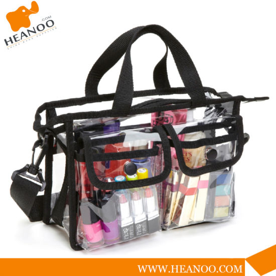China Bag Wholesale Transparent Clear PVC Lady Cosmetic Bag