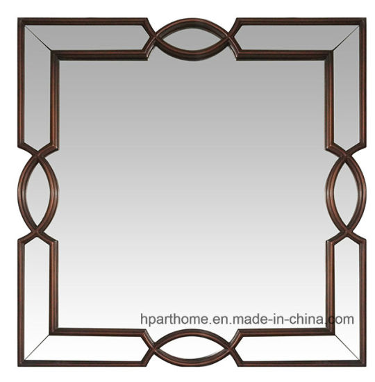 China on-Trend Living Room Decoration Square Shaped Red Framed Art ...