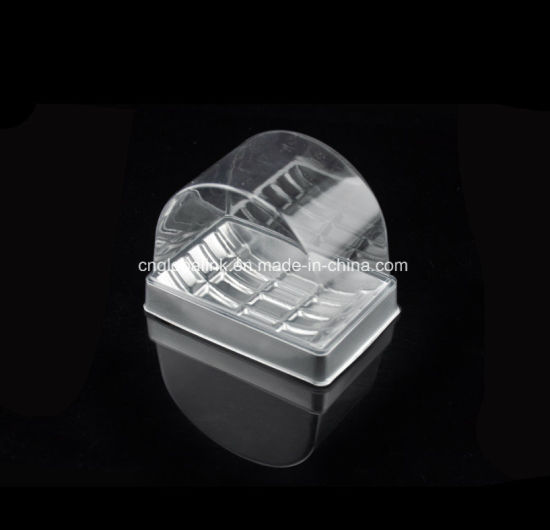 Disposable Plastic Dessert Packaging Container Biscuits Tray Cookies Tray Sandwich Packaging Container