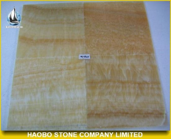 Luxury Yellow Onyx Marble Tiles