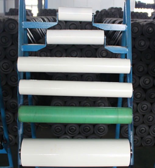 Libo Brand ASTM Standard Carrying Idler Conveyor Roller pictures & photos