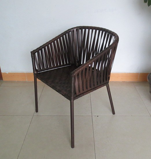 Rattan Weaving Outdoor Dining Arm Chair pictures & photos
